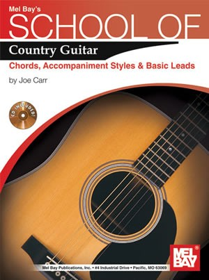 School of Country Guitar: Chords, Accompaniment, Styles & Basic ...